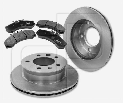 Bremsscheiben Bremsbeläge MERCEDES Sprinter 901-904 vorne  276 mm für PERROT