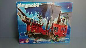 Playmobil-4806-Barco-Pirata-fantasma-Completo-y-descatalogado