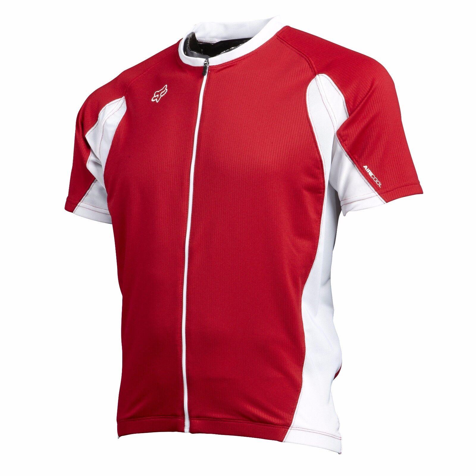 Fox Racing Aircool Race Jersey rosso, XL