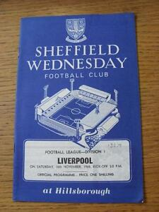 16111968 Sheffield Wednesday v Liverpool  Score Noted Inside - Birmingham, United Kingdom - Returns accepted within 30 days after the item is delivered, if goods not as described. Buyer assumes responibilty for return proof of postage and costs. Most purchases from business sellers are protected by the Consumer Contr - Birmingham, United Kingdom