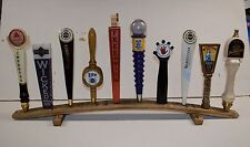 oak whiskey barrel stave 10 beer tap handle display stand handles not included