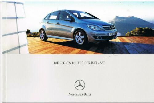 Brochure Mercedes Classe-B T 245 05//05 2005