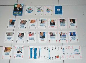 Adaptable Carte Silvio Berlusconi Forza Italia - 54 Playing Cards Poker Promo Gadget