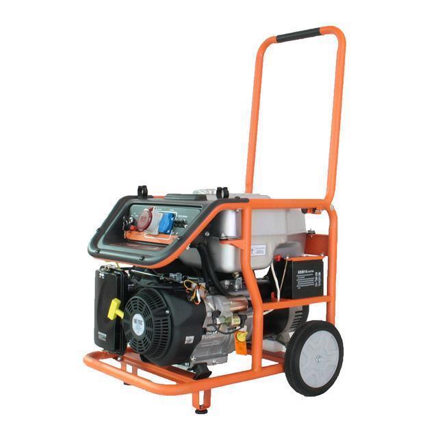 FUXTEC Benzin Stromerzeuger Stromaggregat Synchrongenerator mobiler Generator