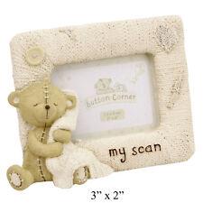 Button Corner Baby's Scan frame Teddy Bear ultra sound sonogram baby mummy CG709
