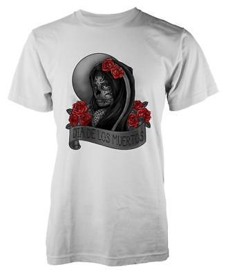 Einfach Bnwt Dia De Los Muertos Day Of The Dead Sullen Tattoo T-shirt S-xxl