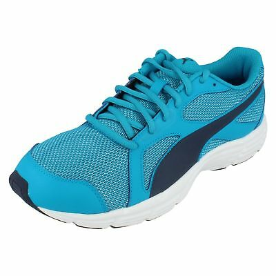 Puma Axis 36846503 Mens Black Mesh Lace Up Athletic Running Shoes
