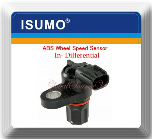 Set 3 ABS Wheel Speed Sensor Front L//R /& In Differential Fits:4WD Ram 2500 3500