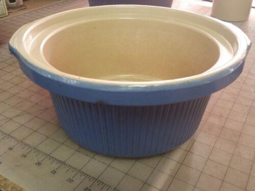 Rival-Crock-Pot-Slow-Cooker-3355-3520-Crock-5QT-Quart-Blue-Only
