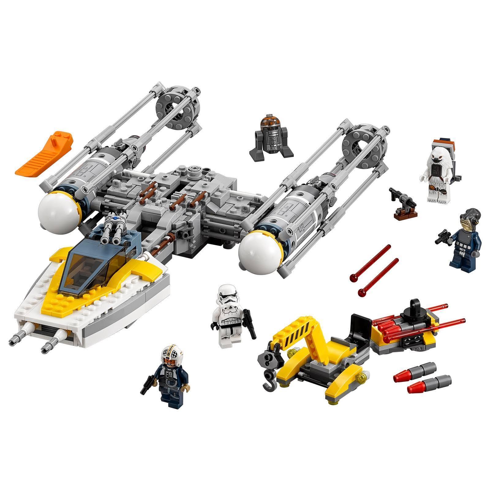 Lego 75172 75172 75172 Estrella Wars y Winter Estrella Fighter. d85