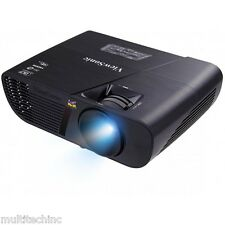 ViewSonic PJD5255 DLP Projector 3300 Lumens HDMI 3D Blu-Ray Ready Home Theater !