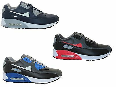 Mens Air Casual Running Walking Shock Absorbing Trainers Jogging Gym Shoes Size