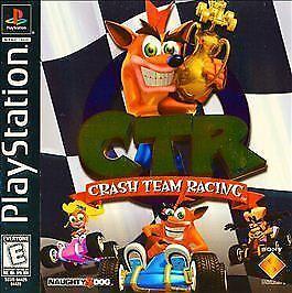 ctr crash team racing sony playstation 1 1999 ebay