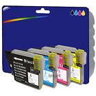 1 Set of non-OEM LC985 Ink for Brother MFC-J220 MFC-J265W MFC-J410 MFC-J415W