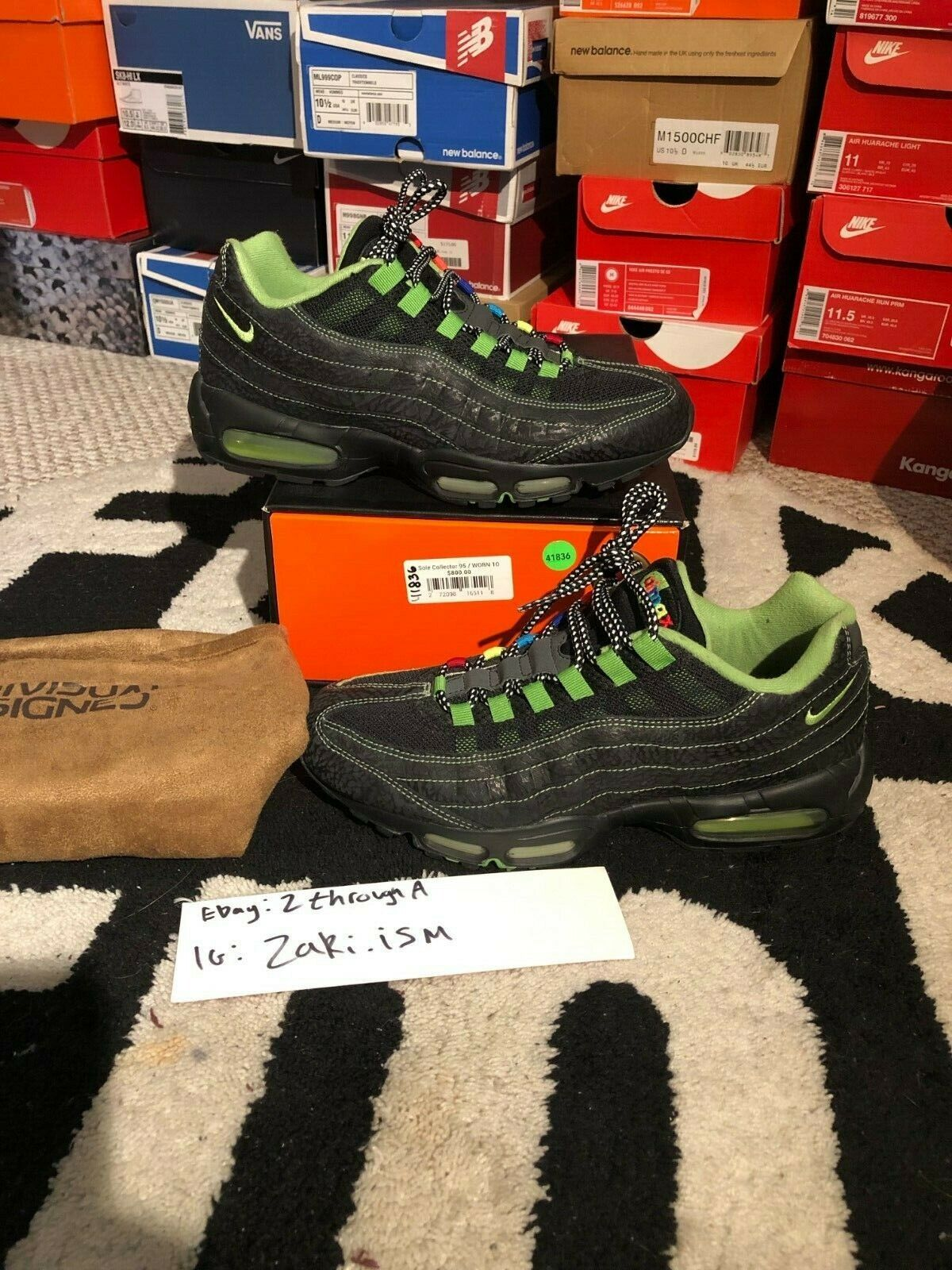 Nike Air Cowboy 10 size Collector Sole 95 max 4e42fubwy62643