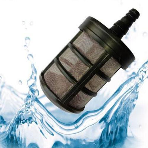 Universal Pipeline Filter Garten Inline Wasser Netz Pumpe Selbstansaugende