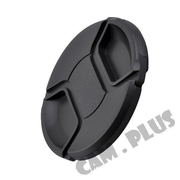2x 77mm 77 Mm Snap-on Center Pinch Front Lens Cap For Canon Nikon Pentax Olympus Pour Classer En Premier Parmi Les Produits Similaires