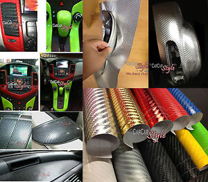 4D-GLOSS-AIR-Free-Carbon-Fibre-Vinyl-Wrap-Textured-for-car-amp-home-real-look