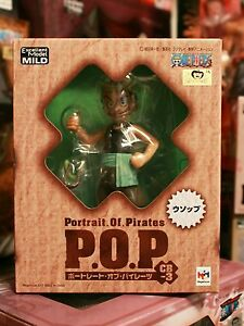 One-Piece-POP-Portrait-of-Pirates-Mild-CB-3-Usopp-Kid-Megahouse-US-Shipping