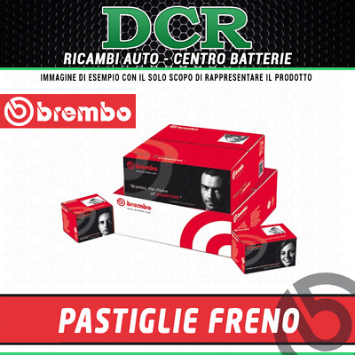 P68047 4 PASTIGLIE FRENO ANTERIORI BREMBO NUOVE /& ORIGINALI