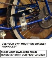 Pivot Arm Chain Tensioner Kit, Motorized Bike For 49/80cc Bicycle Engine Kit