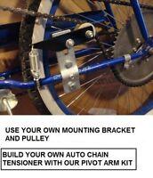 Pivot Arm Chain Tensioner Kit, Motorized Bike For 49/80cc Bicycle Motor Kit (d)