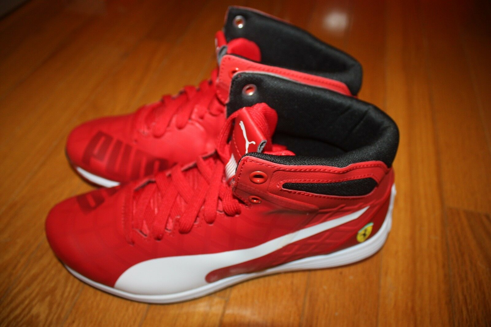 Brand New In Box PUMA Ferrari evoSPEED 1.4 Mid Men's shoes RED SHIP FREE US FAST