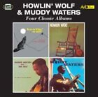 Four Classic Albums by Howlin' Wolf/Muddy Waters (CD, May-2015, 2 Discs, Avid UK)