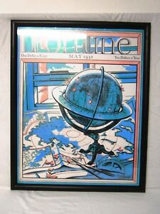 FORTUNE-MAGAZINE-COVER-MAY-1931-POSTER-FRAMED-UNDER-GLASS-26-X-32-034-H-WALL-ART