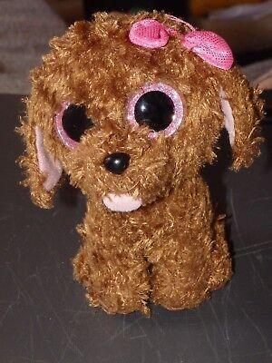 Bean Bags Ty Maddie Hund Mit Schleife Und Glitzeraugen Bean Bag Kuscheltier Wir Nehmen Kunden Als Unsere GöTter