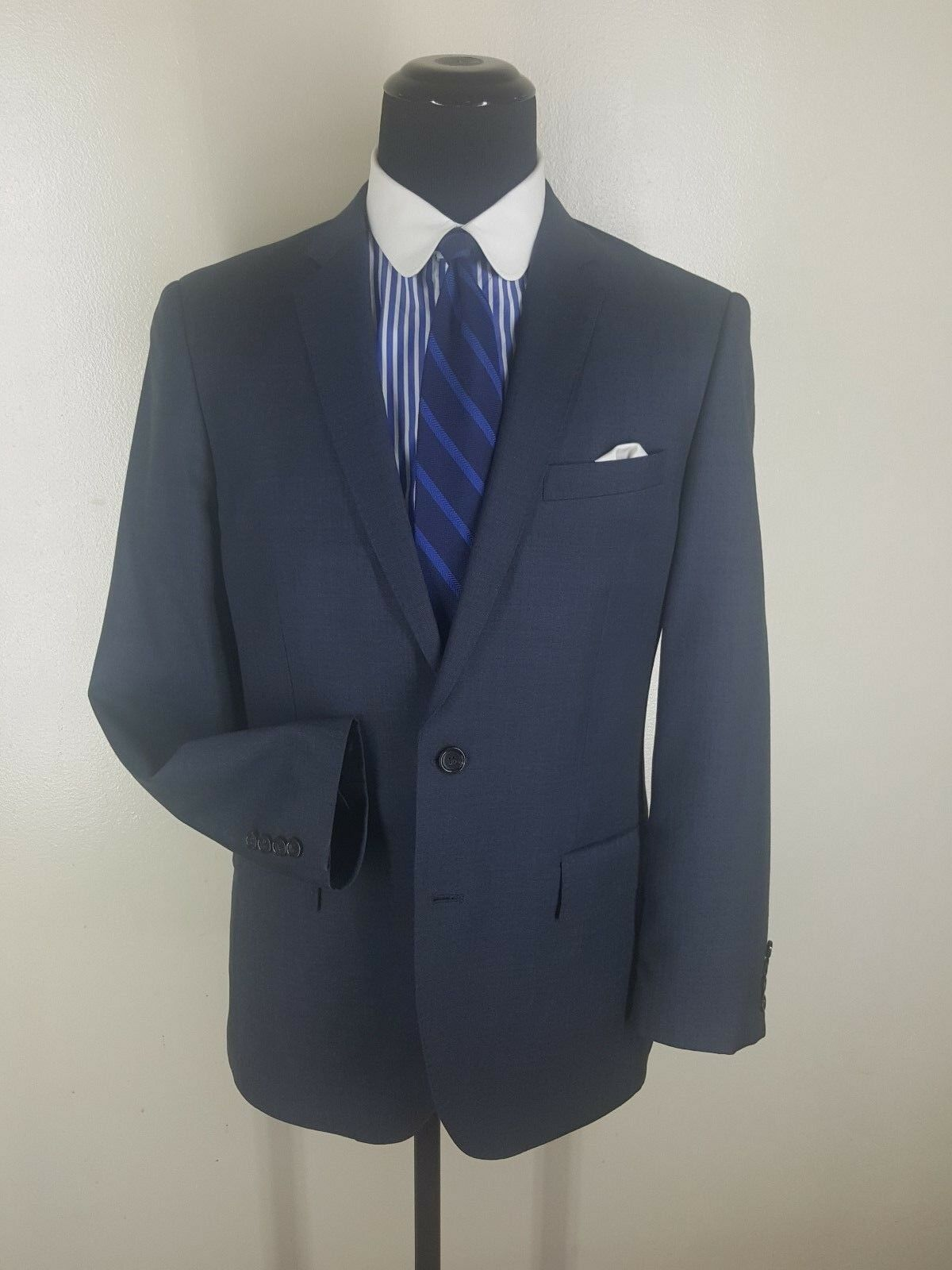 J.CREW  Recent  Ludlow Sport Coat 2 Btn. Side Vents 100% Pure Wool  Fit 42-44 R