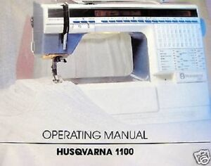 viking husqvarna 1100 operating sewing manual guide cd ebay rh ebay com husqvarna 3600 sewing machine manual viking sewing machine manuals online