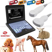Laptop Veterinary Ultrasound Scanner 2 Probes For Smallmedium Size Animal Fedex