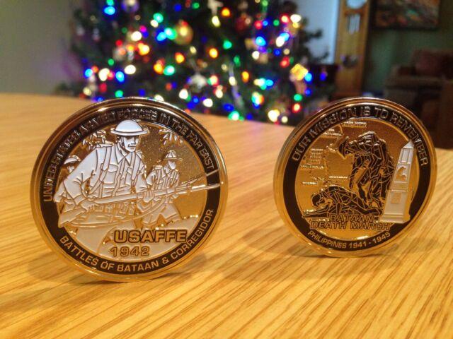 Bataan Death March Challenge Coin - 2