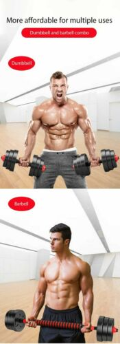 50Kg Dumbbell Barbell Set Gym Weights Body Building Les Mills body pump