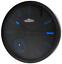 Quartz-wall-clock-CHERMOND-temperature-metal-case-black-dial thumbnail 1