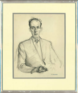Christopher-Alexander-1926-1982-Mid-20th-Century-Chalk-Drawing-Male-Study