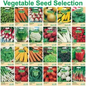 NEW SEASON VEGETABLE & HERB SEEDS COUNTRY VALUE FOTHERGILLS F.U.M. TOOLS FUM