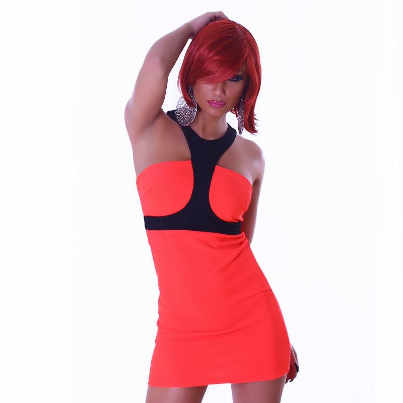 Minikleid Kleid 34 36 36 38 Stretchkleid schwarz schwarz schwarz weiß knall rot schwarz zweifarb   Verwendet in der Haltbarkeit    New Listing    Verschiedene aktuelle Designs    Mode-Muster  21ee57