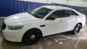 2013 Ford Taurus Police Interceptor AWD Safetied