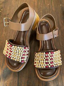 MARNI sandals 39 beaded | eBay