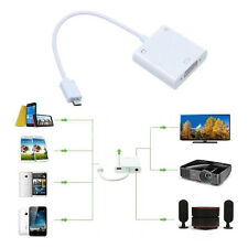 USB MHL to VGA and 3.5mm Audio Adapter + Micro 5pin Adapter for Samsung Note