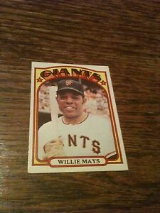 1972-Topps-Willie-Mays-San-Francisco-Giants-49-Nice-100-Authentic-Original-WOW