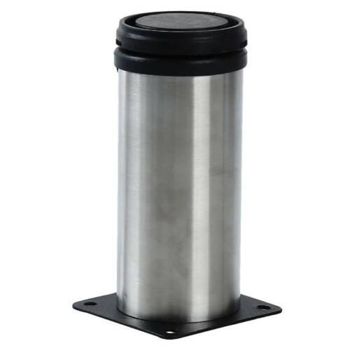 Adjustable Stainless Steel Support Furniture Legs Kitchen Cabinets Round Feet G