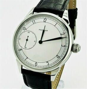 Watch-Marriage-3601-Silver-dial-Dress-WristWatch-Mechanical-Vintage-Style-USSR