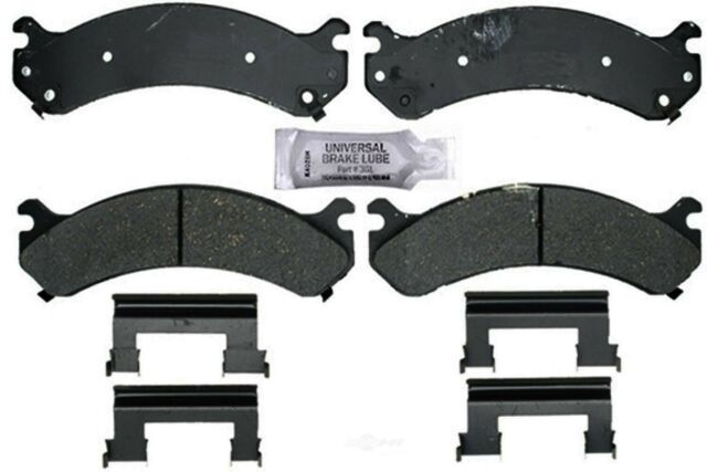 Front /& Rear Semi-Metallic Brake Pad Sets Kit ACDelco For Chevy GMC Hummer H2
