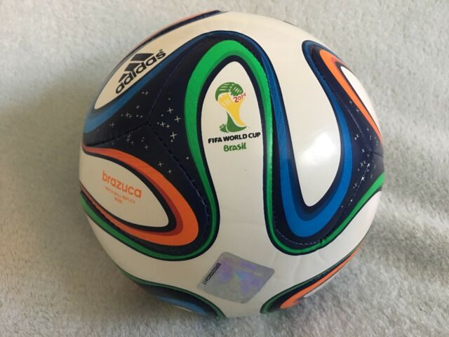 save off a7889 81dad adidas Soccer Brazuca FIFA World Cup 2014 Official Match Ball Replica Size 1