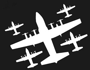 Amazon Com Lockheed C 130 Hercules Vinyl Decal Large Automotive