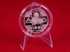 Schweiz 20 Franken 2004 100. Jahre FIFA Fussball Silber PP/PROOF SEHR SELTEN !!!