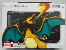 USED Pokemon Center Original Nintendo 3DS LL Charizard edition Lizardon F/S